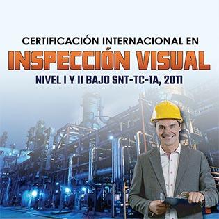 Certificación Internacional En Inspección Visual, Nivel I Y Ii Bajo La Snt-Tc-1A,2011