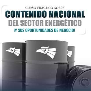 Curso práctico sobre Contenido Nacional del sector energético ¡y sus oportunidades de negocio!
