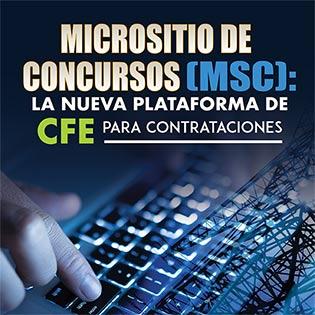 Micrositio de Concursos (MSC): La nueva plataforma de CFE para Contrataciones