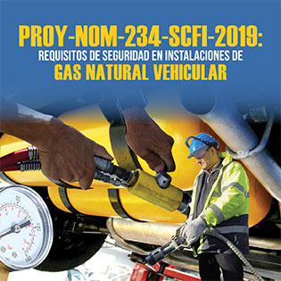 Proy-Nom-234-Scfi-2019 Requisitos De Seguridad En Instalaciones De Gas Natural Vehicular