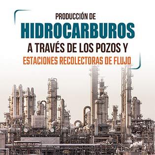 Producción de hidrocarburos a través de pozos y estaciones recolectoras de flujo