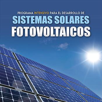 Programa intensivo para el desarrollo de sistemas solares fotovoltaicos