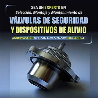 Sea un Experto en Selección, Montaje y Mantenimiento de Válvulas de Seguridad y Dispositivos de Alivio