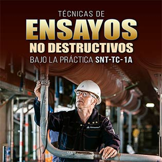 Técnicas de Ensayos no destructivos, bajo la práctica SNT-TC-1A
