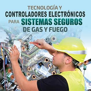 Tecnología y controladores electrónicos para sistemas seguros de gas y fuego.