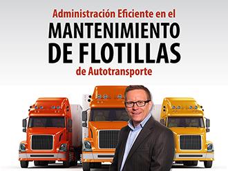 Administración eficiente en el mantenimiento de flotillas de autotransporte