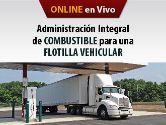 Administración integral de combustible para una Flotilla vehicular (Online)