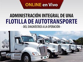 Administración integral de una flotilla de autotransporte (Online)