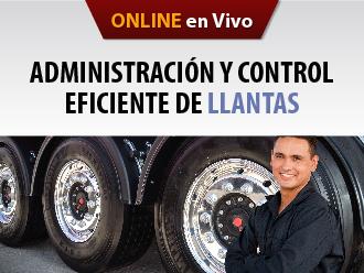 Administración y control eficiente de llantas (Online)