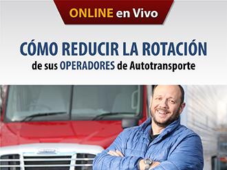 Cómo reducir la rotación de los operadores de autotransporte (Online)