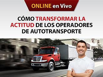 Cómo transformar la actitud de los operadores de Autotransporte (Online)