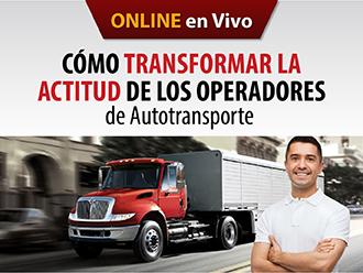 Cómo transformar la actitud de los operadores de autotransporte