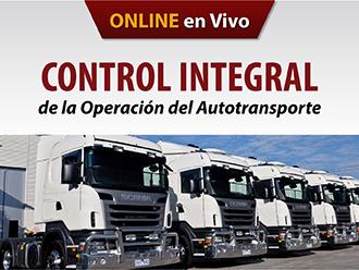Control Integral de la Operación del Autotransporte (Online)