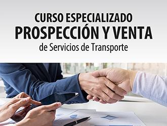 Curso Especializado: Prospección y Venta de Servicios de Transporte