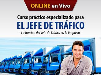 Curso Práctico Especializado para el Jefe de Tráfico (Online)