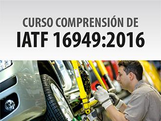 Curso comprensión de IATF 16949:2016