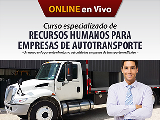 Curso especializado de Recursos Humanos para Empresas de Autotransporte (Online)