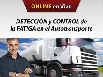 Detección y control de la fatiga en el autotransporte on line