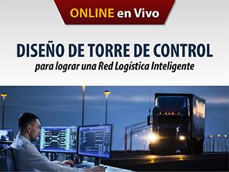 Diseño de torre de control para lograr una red logística inteligente (Online)