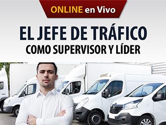 El jefe de Tráfico como Supervisor y líder (Online)