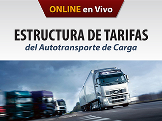 Estructura de tarifas del Autotransporte de carga (Online)
