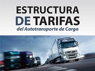 Estructura de tarifas del autotransporte de carga