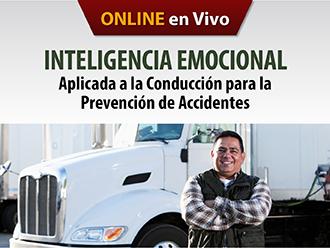 Inteligencia emocional aplicada la condución para la prevención de accidentes (Online)