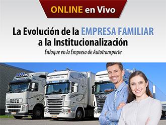 La Evolución de la empresa familiar a la institucionalización: Enfoque en la empresa de Autotransporte (Online)