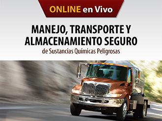 Manejo, transporte y almacenamiento seguro de sustancias químicas peligrosas (Online)