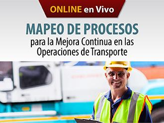 Mapeo de procesos para la mejora continua en las operaciones de transporte (Online)