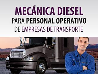Mecánica diesel para personal operativo de empresas de transporte
