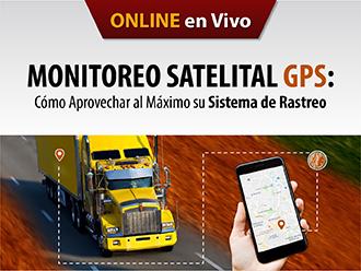 Monitoreo satelital GPS: Cómo aprovechar al máximo su sistema de rastreo (Online)