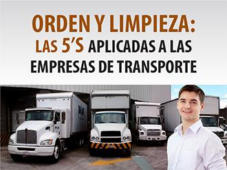 Orden y Limpieza: Las 5s Aplicado a las Empresas de Transporte