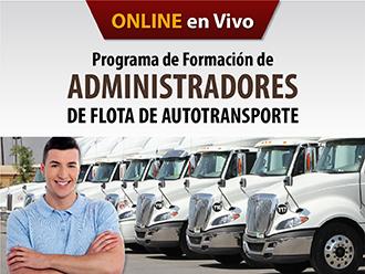 Programa de formación de administradores de flota de autotransporte (Online)