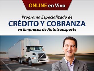 Programa especializado de crédito y cobranza en empresas de autotransporte (Online)