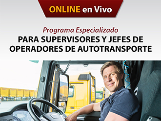 Programa especializado para supervisores y jefes de operadores de autotransporte(Online)