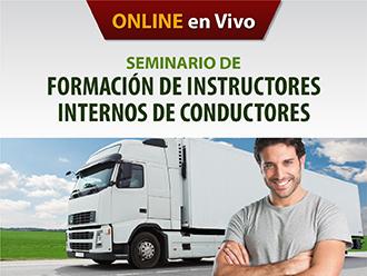 Seminario de Formación de Instructores Internos de Conductores (Online)