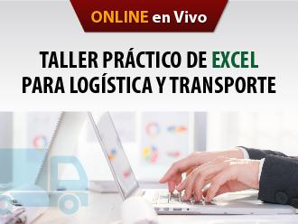 Taller práctico de Excel para logística y transporte (Online)