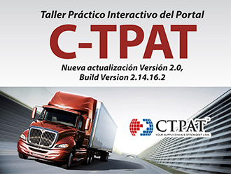 Taller práctico interactivo del portal C-TPAT Versión 2.0, Build Version 2.14.16.2